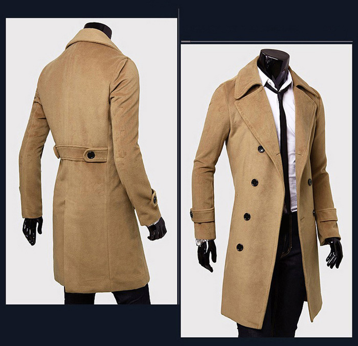 Double-Breasted Trench Coat | Man's Best Thread